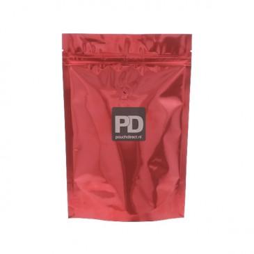 Koffiezak rood-130x210+{40+40} mm