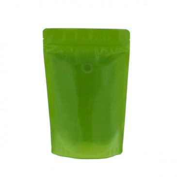 100% recyclebare koffiezakken (recycle code 4) groen