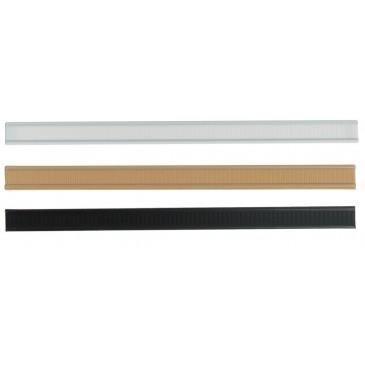Tin ties, zwart, wit, kraftbruin