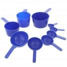 Maatschepjes-60 ml-Blauw