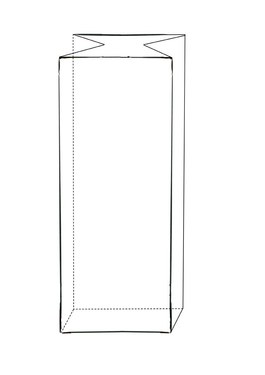 Blokbodemzakken zonder zipper