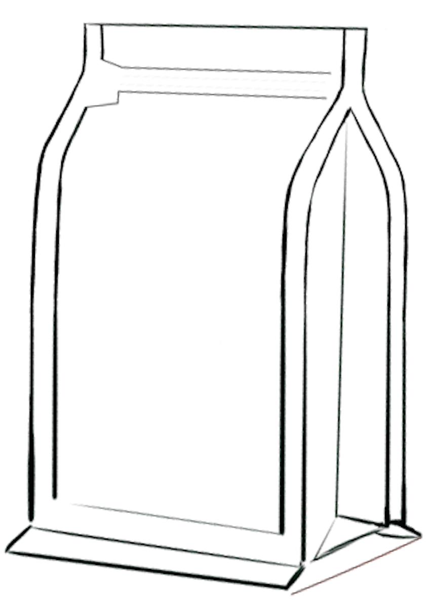 Flat bottom zakken met front zipper