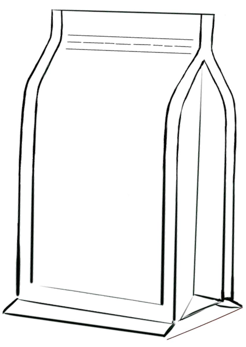 Flat bottom zakken met zipper