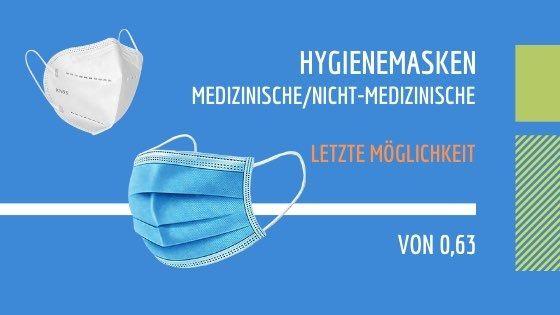 Hygienemasken