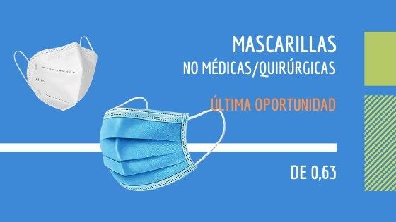 Mascarillas PouchDirect